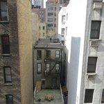 Vista desde nustra ventana, hacia al frente