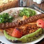 Adana kebab = fantastic!