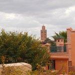 Vue de la terrasse - la Koutoubia