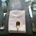 Adorable old fashioned cutlery