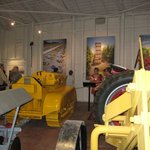 We have lots of vintage tractors and art about agriculture.
