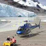 Have you had lunch on top of a glacier lately?