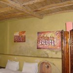 spacious quite clean rooms with hand carved closetn lovely art