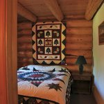 Forget Me Not Cabin, Master Bedroom