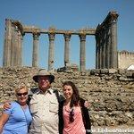 Julia, Steve and our guide Ana in Evora.
