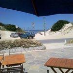 Vista del hotel a la playa