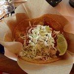 Yummy fish taco