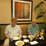 Breakfast at Holiday Inn Express Weatherford