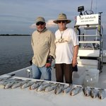 4 hour trip with Saltwater Assassin Fishing Charters. We had a limit of speckled trout.