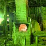 huge stone oven