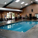 Beautiful Indoor Pool and Spa Facility