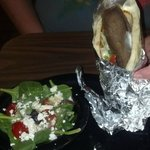 Gyro & Greek Salad