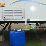 Containerized Sink Waste Solution for RV Camping