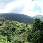 View of Tenorio Volcano Park from Rio Celste hike