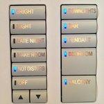 Sistema de luces habitación
