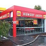 Hungry Jacks Newcastle Airport-bild