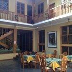 Hotel main atrium