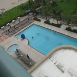 Pool (from 7th floor room)