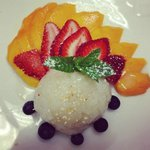 Mango with coconut sticky rice