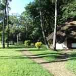 Eco hut accomodation