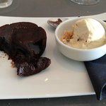 The poetic chocolate soufflé - or the remnants...