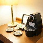 Nespresso Kaffeemaschine im Superior Zimmer