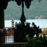 restaurant view for breakfast :) indoor and outdoor!