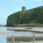 Mussenden Temple from the Beach