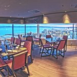 Welcome to the skybar and ala carte restaurant, Astrum Grill & Raw bar
