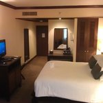 Spacious and clean rooms.