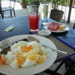 perfect breakfast at hotel tropica :)