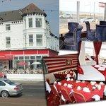 Hotel Front, Dining Room, Regency Lounge Bar, Bedroom & Sun Lounge