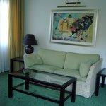 Wohnzimmer der Suite 101