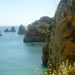 Cliffs near beach