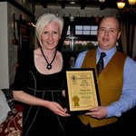 Business Owners Wade & Colleen With Camra Award