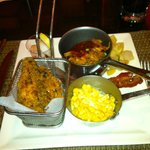 Fried Chick, Corn, Pulled Pork....