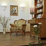 gemütliches Foyer und Empfangsbereich