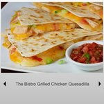 Bistro Freshly prepared Quesadilla