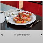 Bistro Freshly prepared French Toast