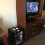 In-room entertainment and minibar
