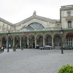 Gare de l'est - view from the front of Amiot hotel