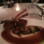 Roasted Australian Rack of Lamb