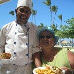 Chef Fernando and me