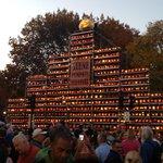 Keen Pumpkin Fest Centerpiece
