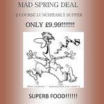mad spring sale flyer