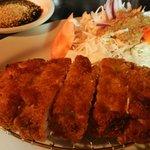 Fried Pork Cutlet! So delicious! Tonkatsu!