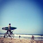 Tombo beach Foto