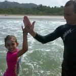 Proud Instructor and Surfer Girl