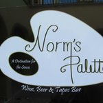 Norm's Palette is like visiting Norm at home