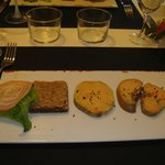 More foie gras with unusual accompaniments